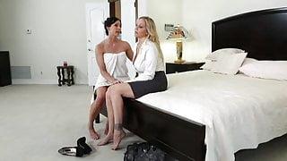 Amazing milf lesbian