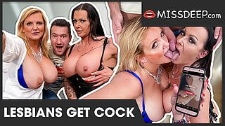 HUNTED: These lesbians get toyboy! MISSDEEP.com