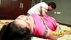 South Indian mallu aunty has romance with husband's brother