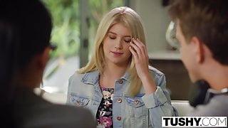 TUSHY - Hot Teen Arya Fae Gets First Anal
