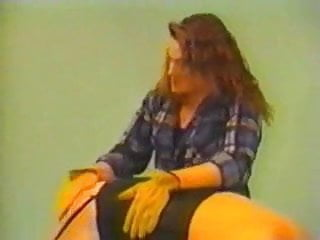 Bad girls spanked over mommys knee - Over the knee tape 5