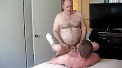 chubby dad fucking young stud