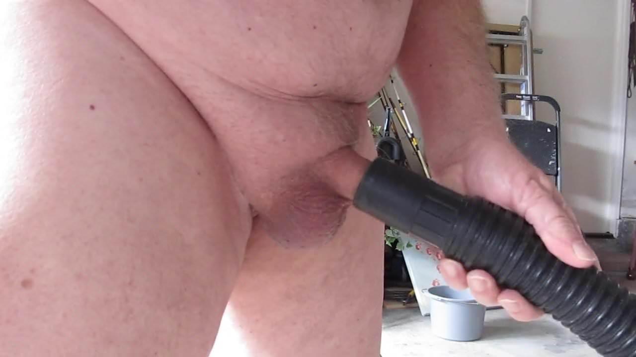 Vacuum Sucking My Dick Makes Me Cum
