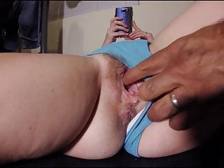 Swollen young pussy - Hairy amateur pussy play fuck white wife cums swollen