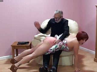 Ass spanking otk free videos Welsh beauty otk 3