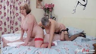 AgedLovE Busty Mature Lady Hardcore Penetration