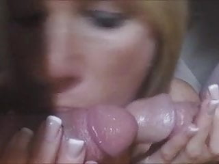Shemale cock rub - Wife loves to rub cocks togrhter and make them cum