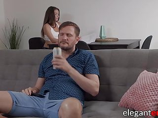 Yong hard euro cocks Euro milf in sneakers has her cute ass fucked rough and hard
