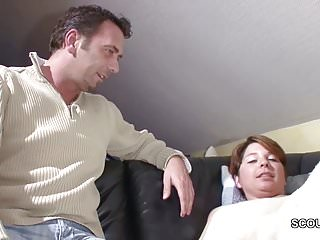 Home movies of mom fucking son - German step-son seduce step-mom to fuck when home alone
