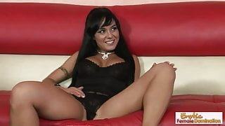 Sexy mature housewife spreads her legs for her stepson