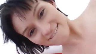 Hot amateur teen girlfriend receives a huge facial shot