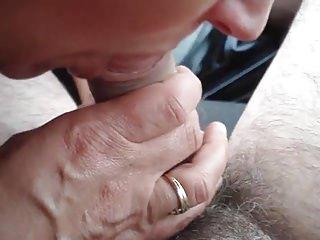 Miri and make a porn - Miry rica mamada en el coche
