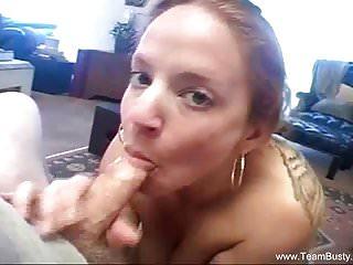 Momma sucks sons cock video Redhead milf sucking sons cock