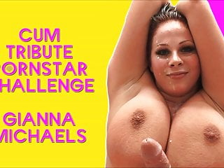 Gianna michaels threesome The cum tribute pornstar challenge starring gianna michaels