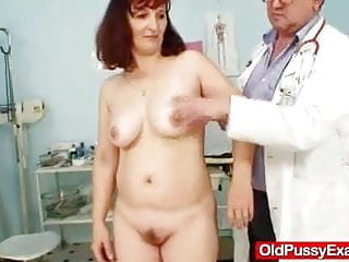 Medical discolored vagina Redhead oma kinky hole vagina-expander inspection