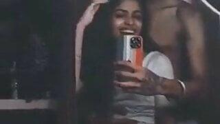 Sri Lankan boy Rubbing his dick on girlfriend's ass.