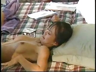 Videos of performing cunnilingus Asian woman gets cunnilingus performed on her
