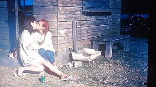 Japanese lesbians having sex (movie Kanojo)