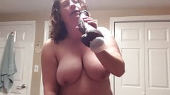BBW mom with hairy pussy, more panties and BBC fantasy