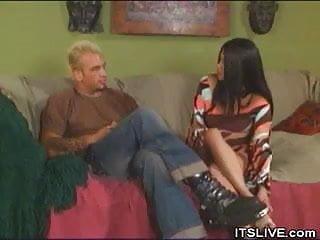Oriental suck woman Oriental cock sucking babe gets fucked