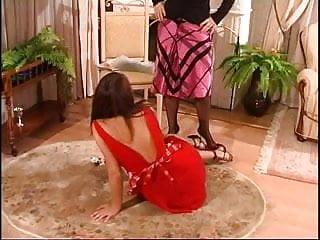 Xxx maid boss car - Russian lesbian boss seduce strap on innocent maid