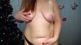 Big ass woman shows her ass and breasts