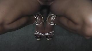 Lofiatona deep purple nails 1
