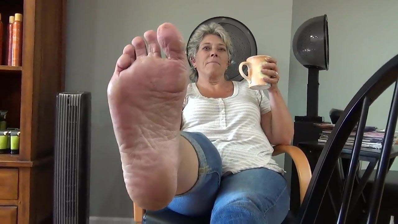 Old Mature Feet Tickling