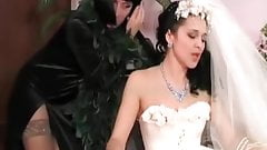 Lesbian mother in law & cheating bride
