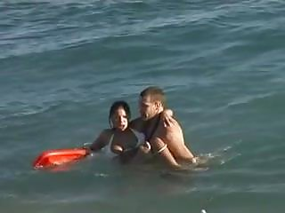 Nude star vids Nude beach - baywatch rescue audition - shes a star