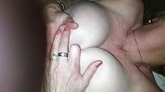 Me fucking Gemma, a horny big tit granny