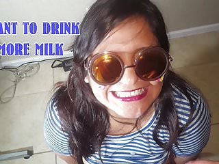 My teen wants to drink once a week - I want to drink more milk