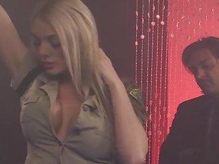 Fishnet sluts British blonde slut gets fucked dressed in green fishnets
