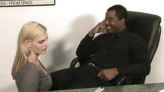 Darryl nervous around her black boss