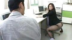Ms Japanese Office Girl Sex Pantyhose