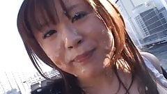 Nana Aoyama - лучшее из буккаке