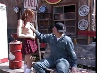 Hotties teens in nylons Hottie picked up banged hard