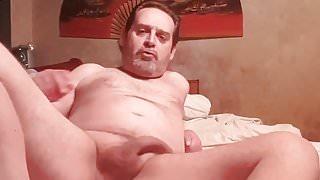 daddy algaycho wank and cum on bed 13 10 17