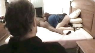 Mature Cuck Hubby Watches BBW Wife Get Fucked