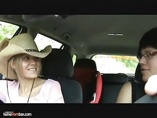 Car sex young Blond babe loves car sex