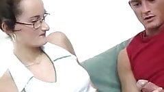 HYE Plain Jane In Specs Enjoys Hard Sex !