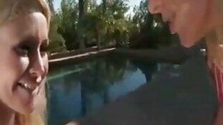 Pool Side Foot Worship