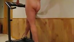 Butt Naked Treadmill Workout 2 in color