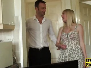 Spanked then fucked videos - British sub slut spanked and roughly fucked