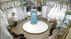 spy camera in the salon of wedding dresses 10 sorry no sound