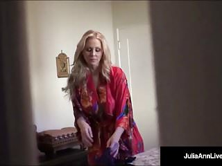 Anne carole lingerie - Award winning milf julia ann tries on sexy lingerie outfits
