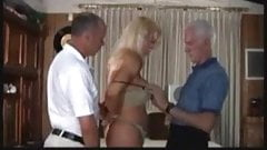 Mature Trans woman pleasing an old sugar daddy
