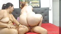 Fat Latina Rides Dick