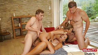 RealityLovers - VR Porn Orgy in Sauna