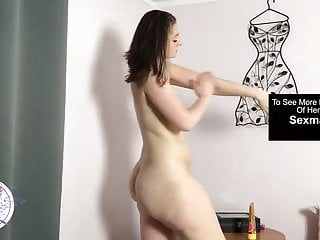 Nude women with huge asses Teen with huge ass rubbing lotion on nude body